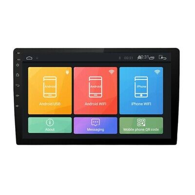 10.1 Inch Android 8.1 Dual 2Din Car Stereo Radio MP5 Multimedia Player with GPS