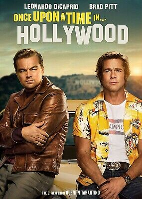 Once Upon A Time In Hollywood Dvd | Quentin Tarantino | Ships 12/10