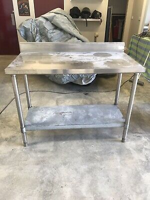 Stainless Steel Bench Commercial Kitchen