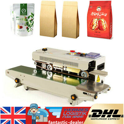 Automatic Plastic Bag Band Sealing Machine Horizontal Sealer Constant Heat Seal