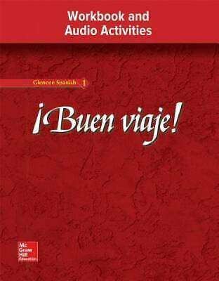 !Buen viaje! Level 1, Workbook and Audio Activities Student Edition
