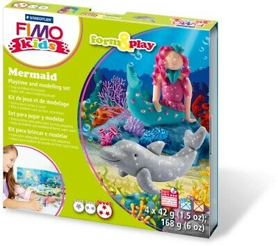 Staedtler 8034 12 LY Fimo kids form&play Set Mermaid (superweiche,