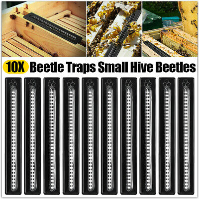 12pcs Black Small Bee Hive Beetle Blaster BeeHive Trap Beekeeping Equipment Tool