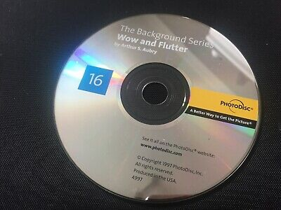 PHOTODISC: WOW AND FLUTTER   NO.16 Royalty-Free Photo CD - 100 IMAGES