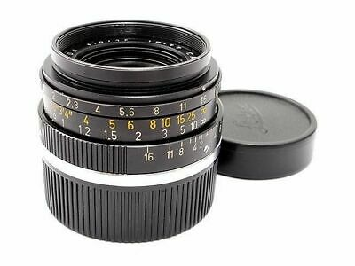 Leica Leitz Summicron M 35mm F2 Wide Angle Lens Leica M Excellent from Japan F/S
