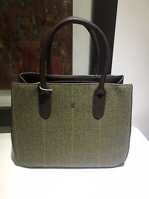 BNWT  JOULES Lovely 'Thernwell' Bag in 'Mr Toad' Tweed