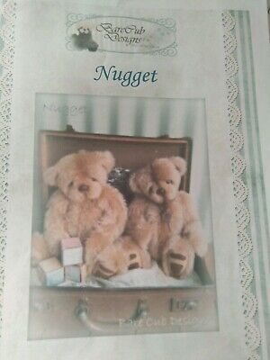 Nugget Bear Pattern by Bare Cub Designs