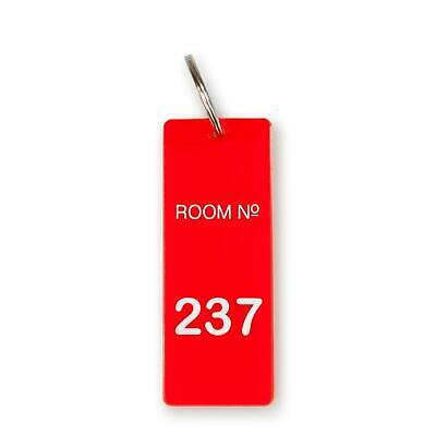 The Overlook Hotel Room 237 Keychain | Room Key Tag Replica from The Shining