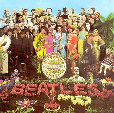 Sgt. Pepper's Lonely Hearts Club Band The Beatles 1987  pre-owned