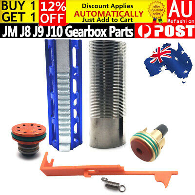 Upgrade Gearbox Ladder Pull Bridge Air Piston Head JinMing J8 J9 J10 Gel Blaster