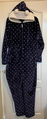 Marks & Spencer Super Soft All In One Night Navy Star Print - BNWOT - Size 20