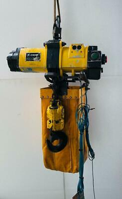Endo Ehl-2Tw Pneumatic Air Chain Hoist 2 Tons Capacity Uu
