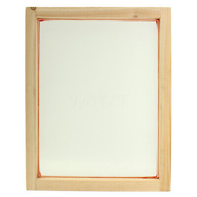 A3 Screen Printing Wooden Frames Choose Mesh Count 90T 77T 55T 43T 32T Silk