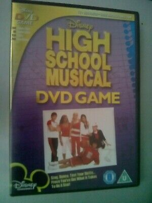 High School Musical - DVD Game (DVDi, 2007)