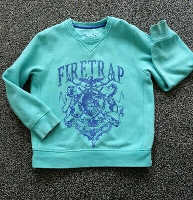 Boys Firetrap Jumper Top Age 5-6 Years