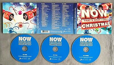 NOW THAT'S WHAT I CALL CHRISTMAS - VARIOUS ARTISTS * * 2015 Triple CD Album