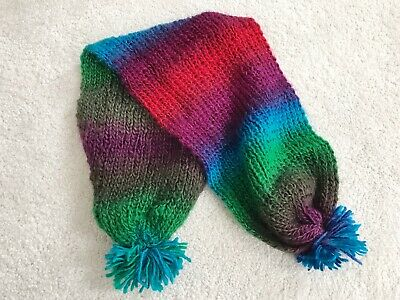 Children's Unisex Hand Knitted Scarf