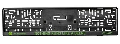 John Deere - License Plate Holder