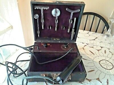 Antique Beasley-Eastman Renulife Ultraviolet Ray Medical Quackery Device, Works!