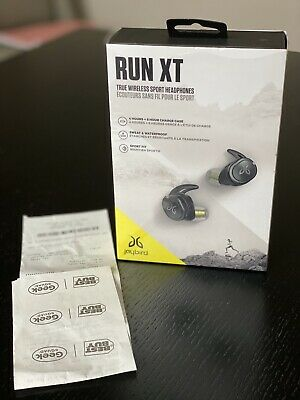 Jaybird RUN XT True Wireless In-Ear Headphones - Black Flash Open Box