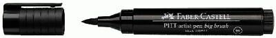 Faber-Castell Tuschestift Pitt Artist Pen Big Brush B Farbe 199 Black