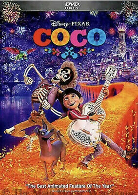 Coco (DVD, 2018) New & Sealed