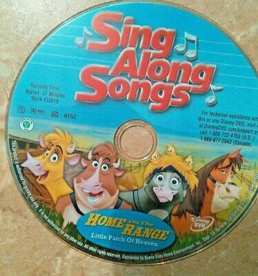 Sing Along Songs Home On The Range Vhs 2004 Large Case