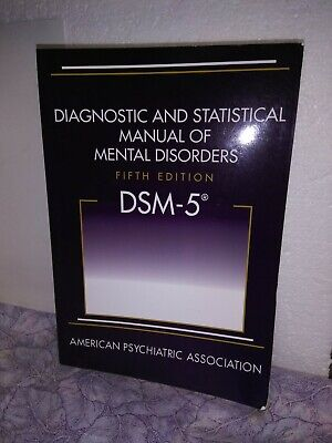 DSM-5 Diagnostic and Statistical Manual of Mental Disorders 5th Edition APA