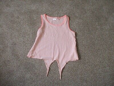 Girls Top By Next Age 13 Lovely Pink Cotton