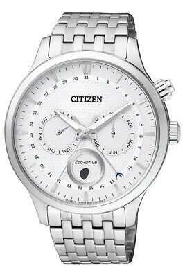 Citizen Men's Eco-Drive Moon Phase Sapphire Crystal 42mm Watch AP1050-56A