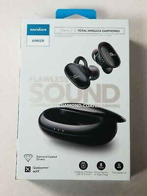 Anker SoundCore Liberty 2 Total Wireless In-Ear Headphones Earbuds *24hr Auction