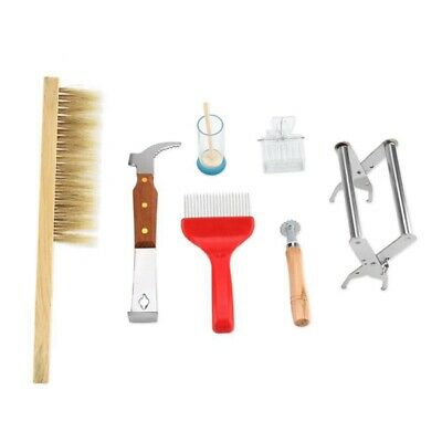 7Pcs Beekeeping Supplies Kit, Durable Beekeeping Equipment Set Complete Bee J6U5