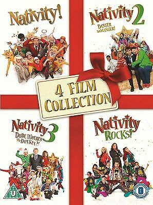 Nativity!: ALL 4 Film's Collection (DVD, Box Set) *New / Sealed*