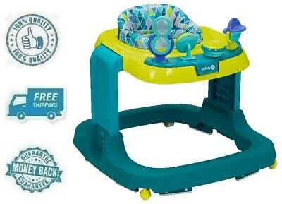 New Green Teal Baby Developmental Walker Exercise Activity Center Walking Aid