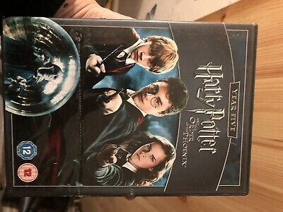 Harry Potter and the Order of the Phoenix DVD (2009) Daniel Radcliffe, Yates