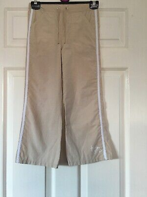 Lovely Girls Beige With Side White Piping  Trousers-George-Age 5-6 Yrs
