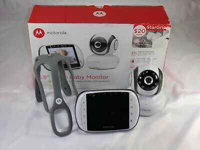 "Motorola MBP36S Video Baby Monitor, 3.5"" Color Screen"