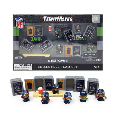 Seattle Seahwks 14 Pc. 2019 Nfl Teenymates Team Set New In Box Nfl Licensed