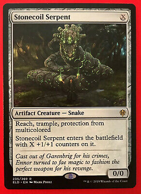 Stonecoil Serpent :: M/NM :: Throne of Eldraine ~ ELD Magic MTG