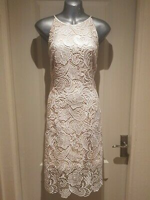 Debut Pencil Dress Size 18 Wedding Outfit Mother of the Bride Cream Lace