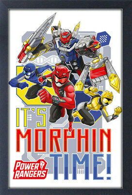 Power Rangers Classic Movie Poster Art Print A0 A1 A2 A3 A4 Maxi
