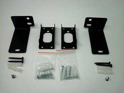 bose cinemate 700 complete wall mounts kit virtually invisible bracket black