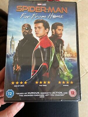 Uk Dvd Spiderman Far From Home New