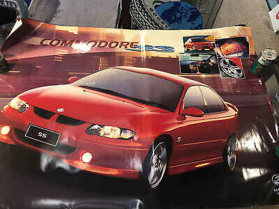 Holden Commodore SS Large Original Poster