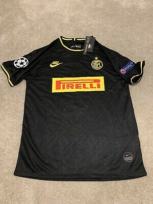 INTER MILAN THIRD Shirt 19/20 -MENS Size EXTRA LARGE -Brand New With Tags!