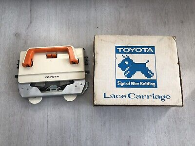 Toyota Lace Carriage accessory for KS901 Knitting machine. BOXED