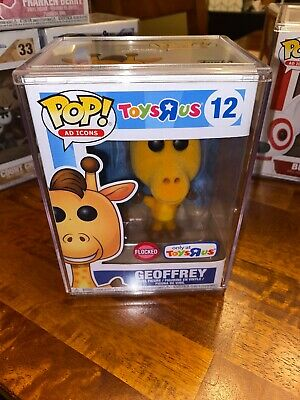 Funko Pop! Ad Icons GEOFFREY Flocked #12 TOYS R US Exclusive