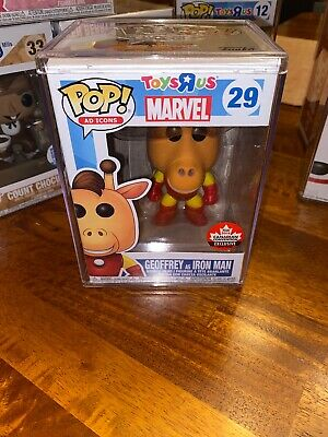 Funko Pop Ad Icons #29 Geoffrey As Iron Man Canadian Convention Exclusive