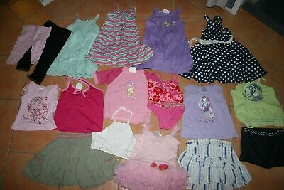 Girls Summer Mixed Clothes Size 2 - Excellent Condition