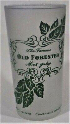 60+ Year Old Mint Julep Glass - Similar To Kentucky Derby Glass - Old Forester